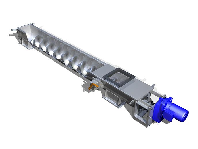 Shaftless Screw Conveyor Screw Conveyor Xinxiang Dahan
