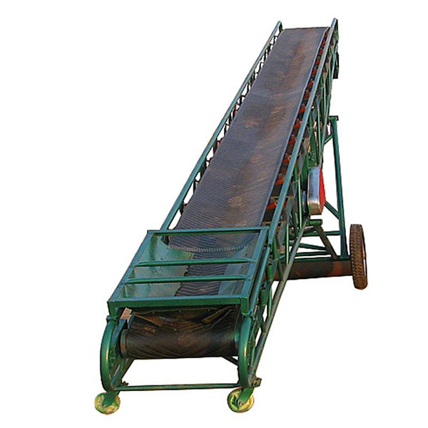Big angle belt conveyor