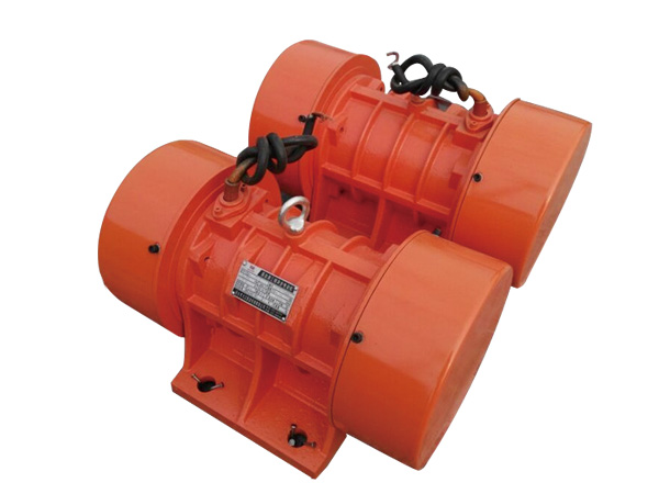 Horizontal vibrating motor used