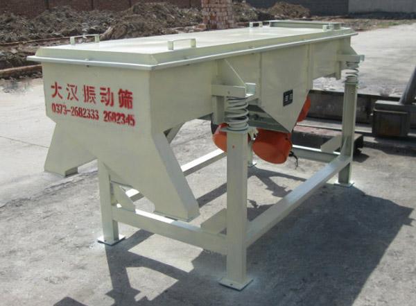 Linear Vibrating Screen Sieving Machine Xinxiang Dahan